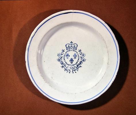 Versailles kitchen plate, Saint-Cloud manufacture
