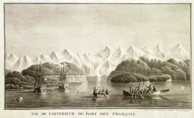 Le Port des Francais, Alaska, from 'Voyage de La Perouse', July 1786
