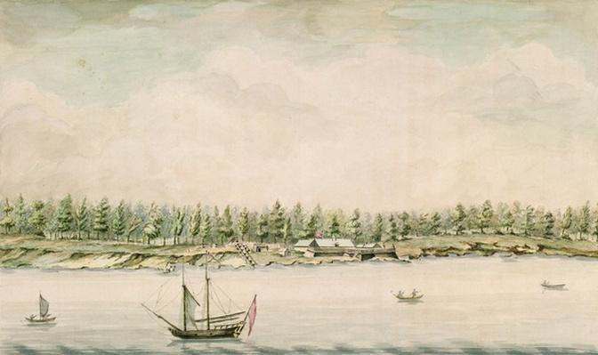 Fort Erie, late eighteenth century