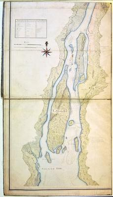 Grosse Isle and part of Lake Erie, 1796