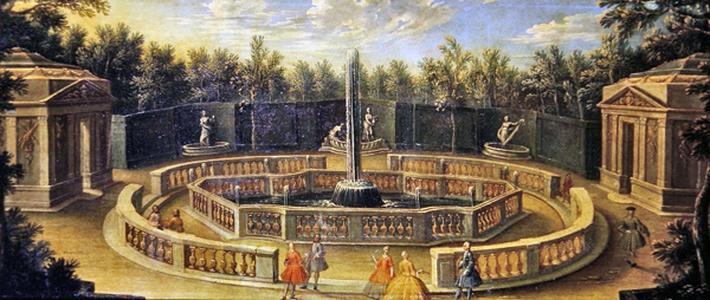 The Bosquet des Domes at Versailles