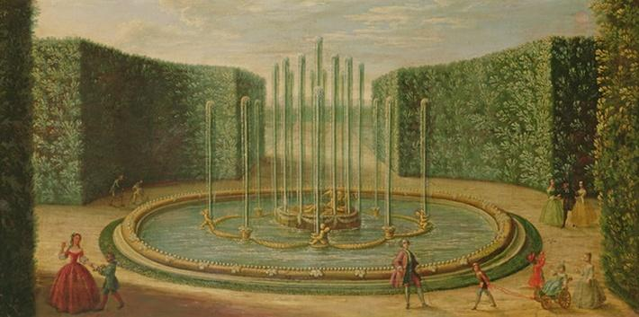 The Basin of Saturn at Versailles, early eighteenth century