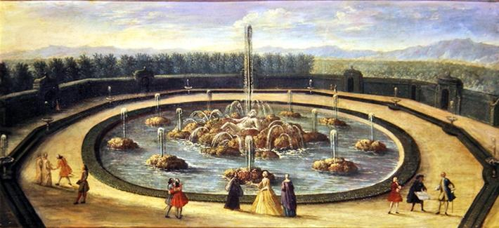 The Basin of Enceladus at Versailles, early eighteenth century