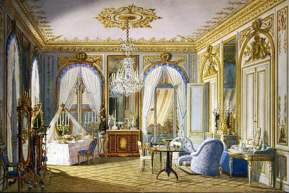 Dressing Room of the Empress Eugenie at Saint-Cloud, 1860