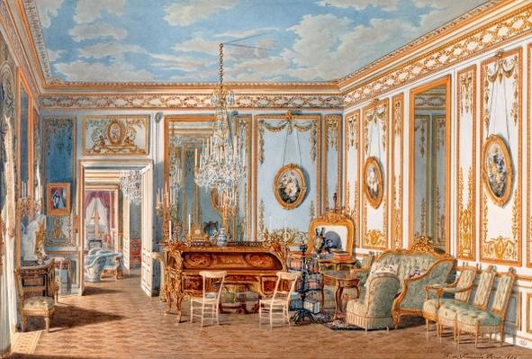 The Study of the Empress Eugenie at Saint-Cloud, 1860