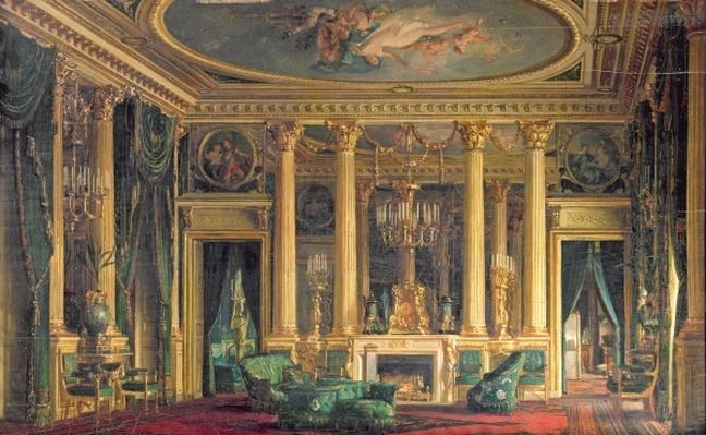 A Salon in the Hotel of Monsieur Basile Parent, Place Vendome, Paris, 1866