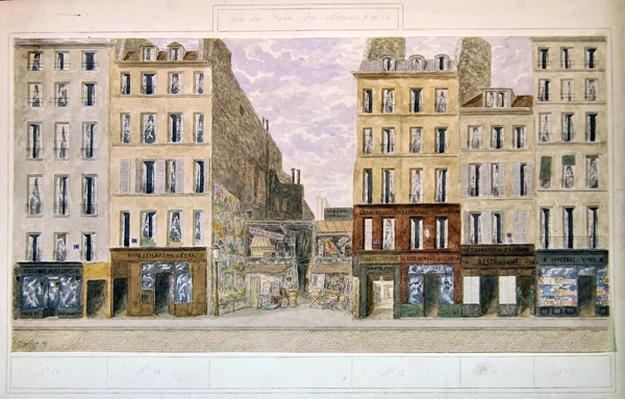 No.8 to No.16 rue du Four, Paris, France, 1893