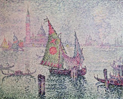The Green Sail, Venice, 1904