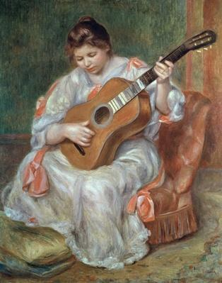 The Guitar Player, 1897