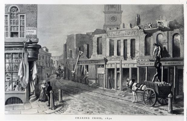 Charing Cross, 1830