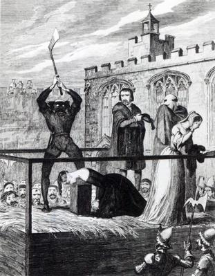 The Execution of Lady Jane Grey, 1840