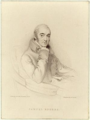 Samuel Rogers, engraved by William Finden