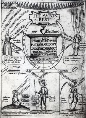 Frontispiece to 'The Saints Everlasting Rest' by Richard Baxter, printed in 1652