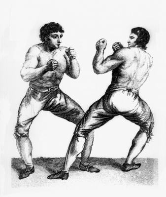 Boxing Match Between Daniel Mendoza and Richard Humphreys, 29th September 1790