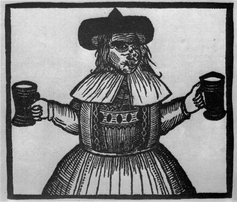 Elinour Rummin, purveyor of Pimlico Ale, c.1609