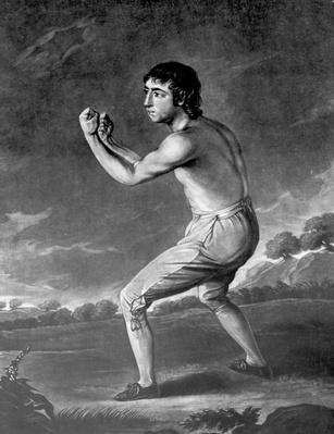 Daniel Mendoza, engraved by Henry Kinsbury, 1789