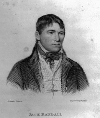 Jack Randall, engraved by Hopwood