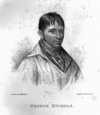 George Nichols, engraved by Percy Roberts