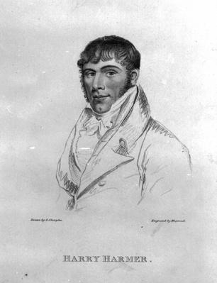 Harry Harmer, engraved by Hopwood