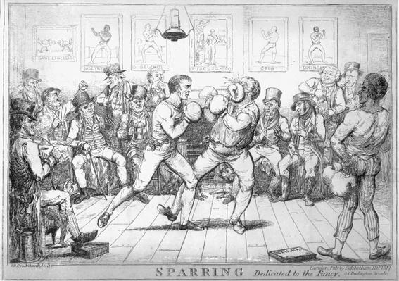 Sparring, 1817