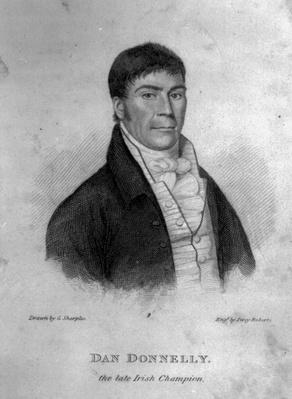 Dan Donnelly, engraved by Percy Roberts