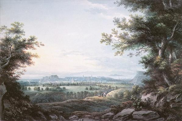 Edinburgh from the South, 18th century