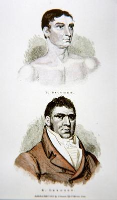 Tom Belcher and Gregson, from a print published in 1813
