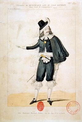 Hurteaux in the role of Lord Enrico Ashton, in the opera 'Lucie de Lammermoor', by Gaetano Donizetti