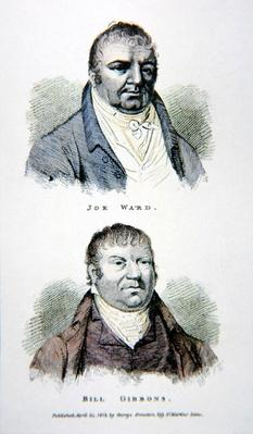 Joe Ward and Bill Gibbons, from a print published in 1813