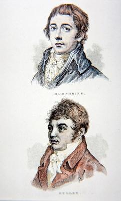 Richard Humphries and John Gully, from a print published in 1812