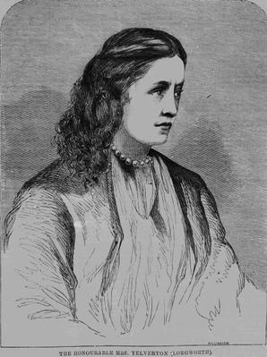 The Hon. Mrs Yelverton, illustration from 'Illustrated Sporting News', 1861