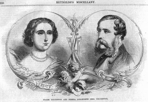 Major Yelverton and Teresa Longworth