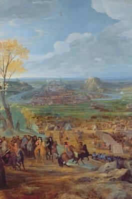 The Siege of Besancon in 1674 by the army of Louis XIV