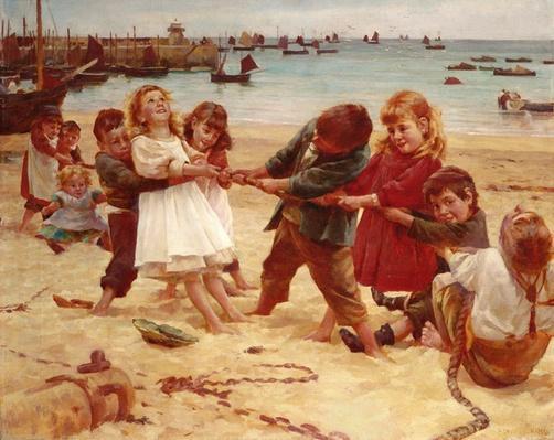 Tug of War, 1891