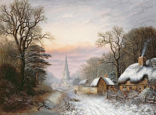 Winter landscape, 1869