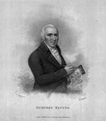 Humphry Repton, engraved by William Holl Sr, 1802