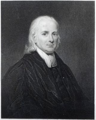 Rev Friedrich Schwartz, engraved by Edward Scriven