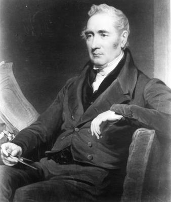 George Stephenson, engraved by Charles Turner, 1838