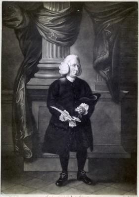 Daniel Race, engraved by James Watson, 1773