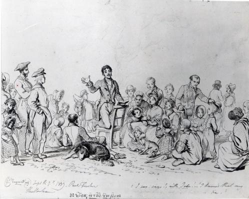 The Field Preacher, 1837
