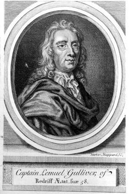 Captain Lemuel Gulliver, 1726