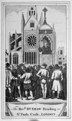 The Reverend Dr. Shaw Preaching at St. Paul's Cross, London, 1483