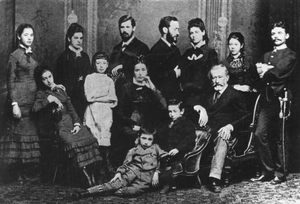 The Freud Family, c.1876