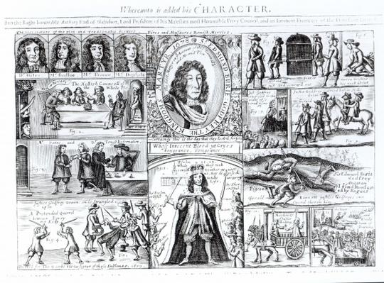 'Sir Edmund Berry Godfrey's Murder Made Visible', contemporary pamphlet, 1678