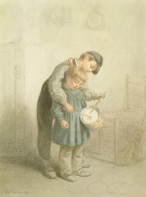 The Little Drummer, 1872