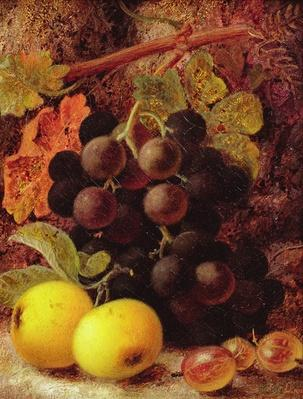 Grapes, Apples and Gooseberries