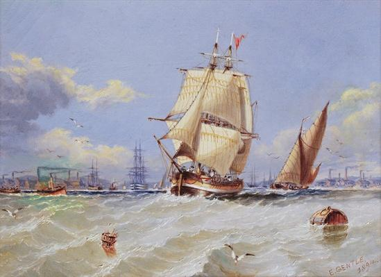 Coastal Scene, 1894