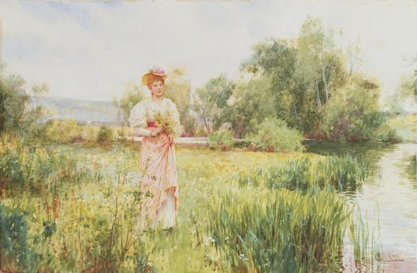 By the River, 1896