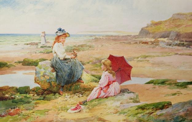 The Red Parasol, 1895