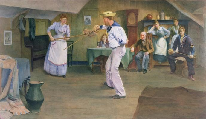 The Fencing Lesson, 1893